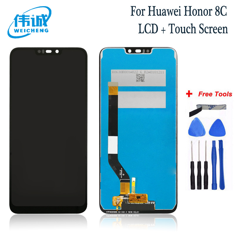 WEICHENG Top Quality For Huawei <font><b>Honor</b></font> <font><b>8C</b></font> LCD <font><b>Display</b></font> <font><b>Touch</b></font> <font><b>Screen</b></font> Digitizer Assembly For <font><b>Honor</b></font> Paly <font><b>8C</b></font> BKK-AL10 BKK-L21 LCD image
