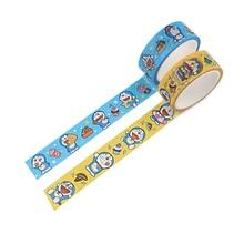LX221 Doraemon Cartoon Washi Tape Handmade DIY Decorative Colored Paper Tape Office Supplies