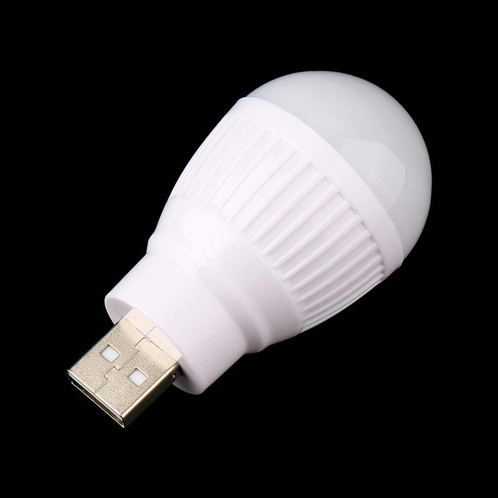Portátil mini usb led lâmpada de luz para computador portátil computador portátil mesa leitura quente novo