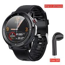 L15 + Earphone/set Smart Watch Men with LED Light ECG PPG He