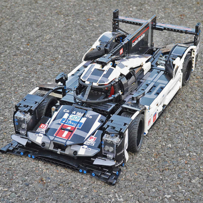 So Big 1586 шт супер строительные блоки автомобиля 919 Модель Набор кирпич совместимые основные бренды Technic серии игрушки подарок для детей