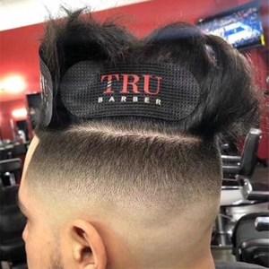 Image 1 - 2 pièces/ensemble barbier pince à cheveux cheveux autocollant bande élastique pour cheveux épingle à cheveux cheveux outils de coiffure accessoires de barbier Salon coiffure outil