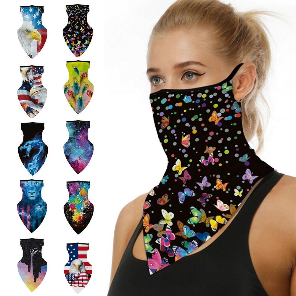 Outdoor Breathable Anti-UV printing UV Protection Sun Protection Bike Cycling Face Cover Bandana Scarf Mask(China)