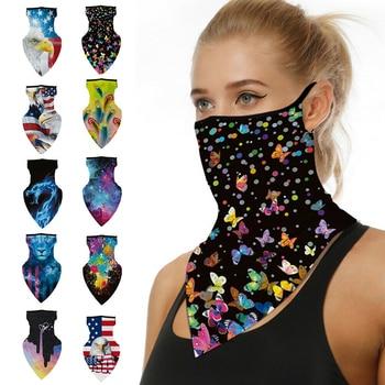 Proteção anti-UV respirável ao ar livre proteção UV proteção solar para ciclismo máscara lenço bandana