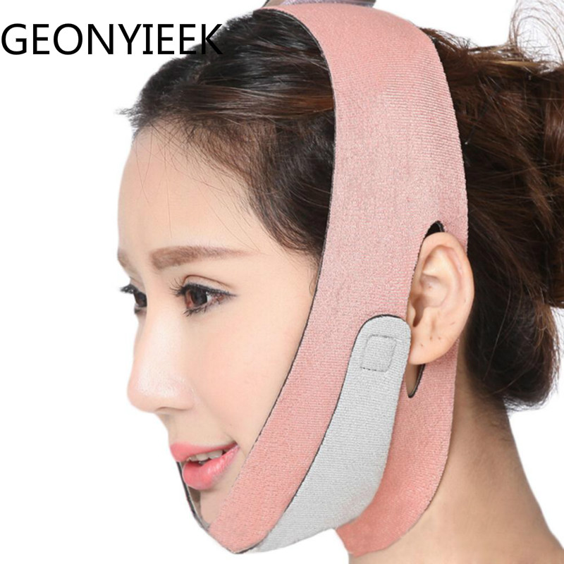 1pcs V Face Lift Up Belt Removal Belt Slimming Lifting  Slimmer Face Bandage Wrap Wrinkles Double Chin Slimmer Tool