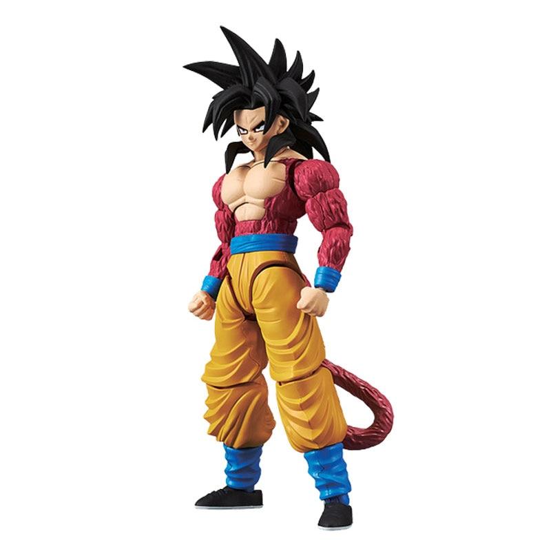 Original BANDAI Dragon Ball Z Figure-Rise GT SSJ4 Goku Action Figure Toys Figurals Model Dolls Brinquedos