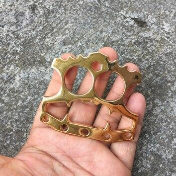 Bottle Opener EDC Stainless Steel Double Finger Kitchen Bar Tool Multifunction Stainless Hex Key Mens Self Defense Glove Gold 4