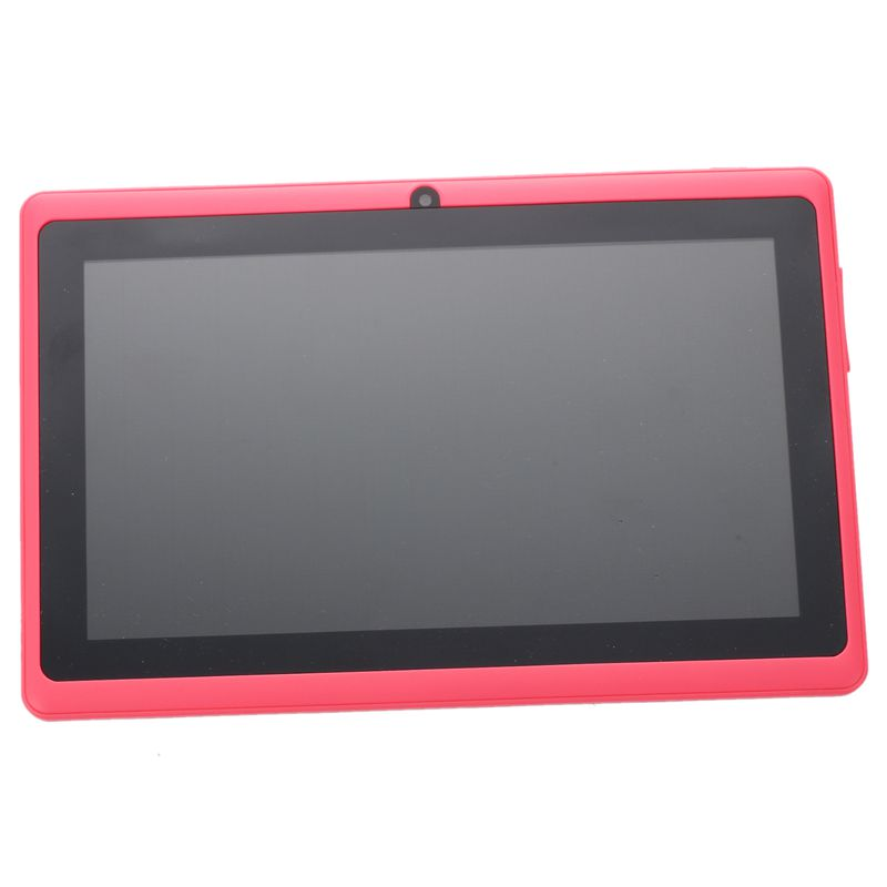 7 Inch Android Google Tablet PC 4.2.2 8GB 512MB DDR3 Quad-Core Camera Capacitive Touch Screen 1.5GHz WiFi Pink