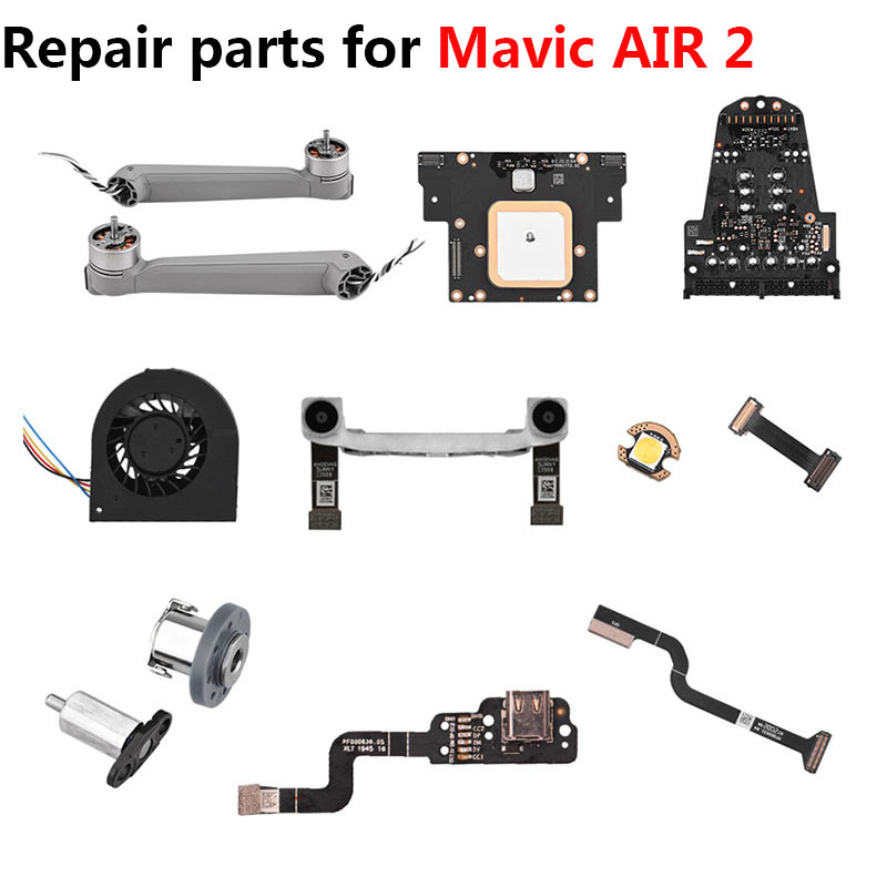 Brand New Repair Parts for Mavic Air 2 GPS Module Control Board Cable Left Right Rear Arm Shaft Drone Accessories