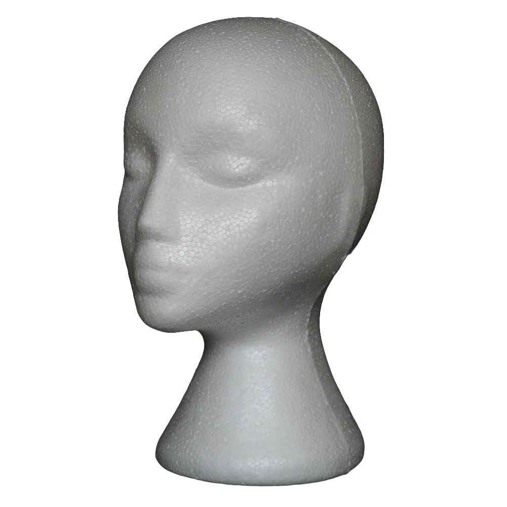 Abstract Foam Mannequin Head Manikin Head Model Wig Hair Glasses Display Stand Mannequins Head