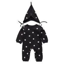 Одежда для малышей; Шапка Детский комбинезон с длинными рукавами;