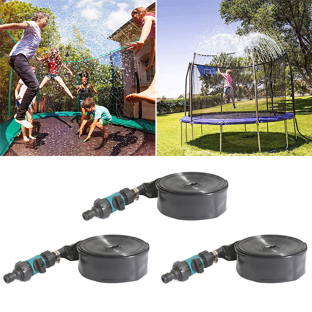Sommer Wasser Sprinkler Trampolin Sprinkler Garten Im Freien Wasser Spiele Spielzeug Sprayer Hause Waterpark Kühlung Sprinkler Zubehör