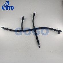 Przewód giętki przewodu powrotnego przewodu wtryskiwacza przewodu wtryskiwacza OE: 03L130235M dla Amarok 2011