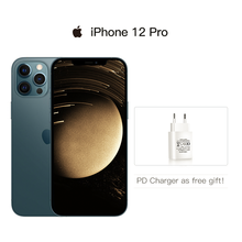 Teléfono móvil usado iPhone 12 Pro/12 Pro Max 5G desbloqueado, pantalla XDR de 6,1