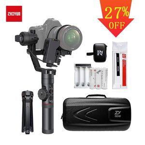 Image 1 - رافعة Zhiyun 2 مثبت أفقي ثلاثي المحاور لجميع طرازات كاميرات DSLR بدون مرآة كانون 5D2/3/4 مع تركيز متابع مؤازر