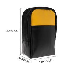 PU Leather Multimeter Storage Case Carrying Bag Tool Bag Instrument Storage Bag Case