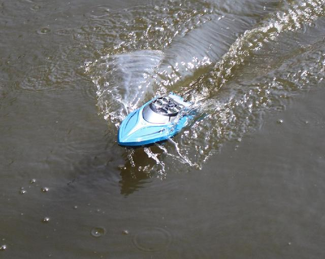 LeadingStar 2.4GHz 4CH 25KM/h High Speed Mini RC Boat for Kid Toys Gift 6