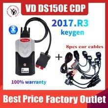 2021 yeni VCI VD TCS CDP Obd tarayıcı Delphis VD DS150E CDP/2017 r3 Bluetooth araç ve kamyon tanı aracı usb