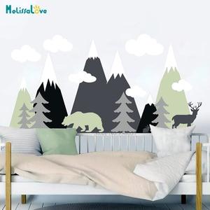 Mountain Adventure Nursery Wal