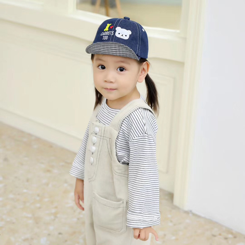 H1555cf02d528435bb7e844777c95050fk - Spring Autumn Baby Baseball Cap Cartoon Dinosaur Baby Boys Caps Fashion Toddler Infant Hat Children Kids Baseball Cap