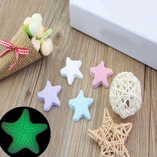 5pcs/pack Silicone Handle Door Lock After The Protection Pad Wall Stickers Creative Wall Thickening Mute Cute Starfish Shape