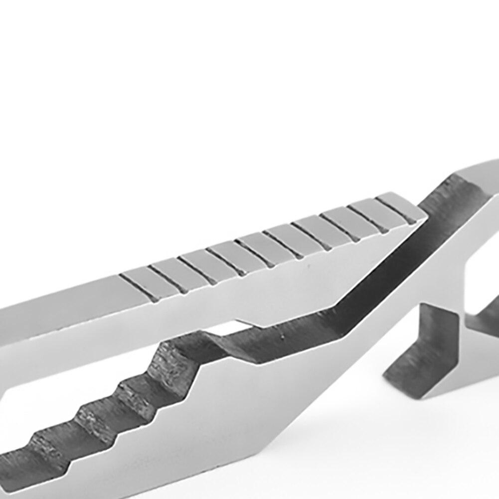На открытом воздухе комбинация инструмент EDC отвертка многофункциональный складной кемпинг выживание партия мини портативный аварийный гаджет серебро