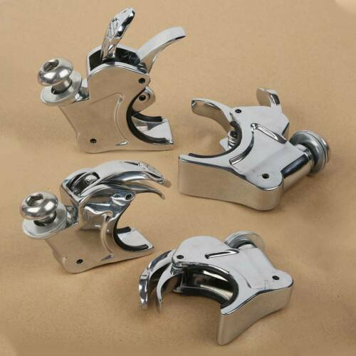 HTTMT MT447-003 39mm Forks Windshield Windscreen Clamps Compatible with Harley Sportster XL XLH Dyna Models