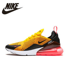 Nike Air Max 270 Running Shoes For Men Sport Outdoor Sneakers Yellow Black Red Comfortable Breathable Cushioning AH8050-006(China)