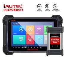 Autel MK908P escáner de diagnóstico de coche MaxiSys J2534 programador ecus codificación PK Maxisys Elite MS906BT IM608 MaxiCOM MK908 PRO OBD1 /2