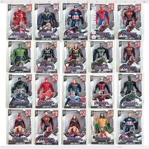 30 centimetri Avengers Endgame Thanos Spiderman Hulk Iron Man Capitan America Thor Wolverine Venom Action Figure Giocattoli Bambola per I Ragazzi regalo(China)