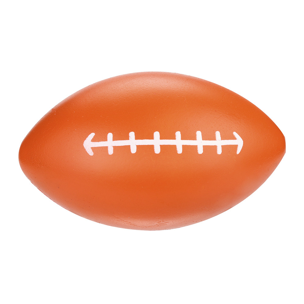 Squishy Toy Decompression Rugby Scented Squishies Slow Rising Kids Toy Stress Relief Toy