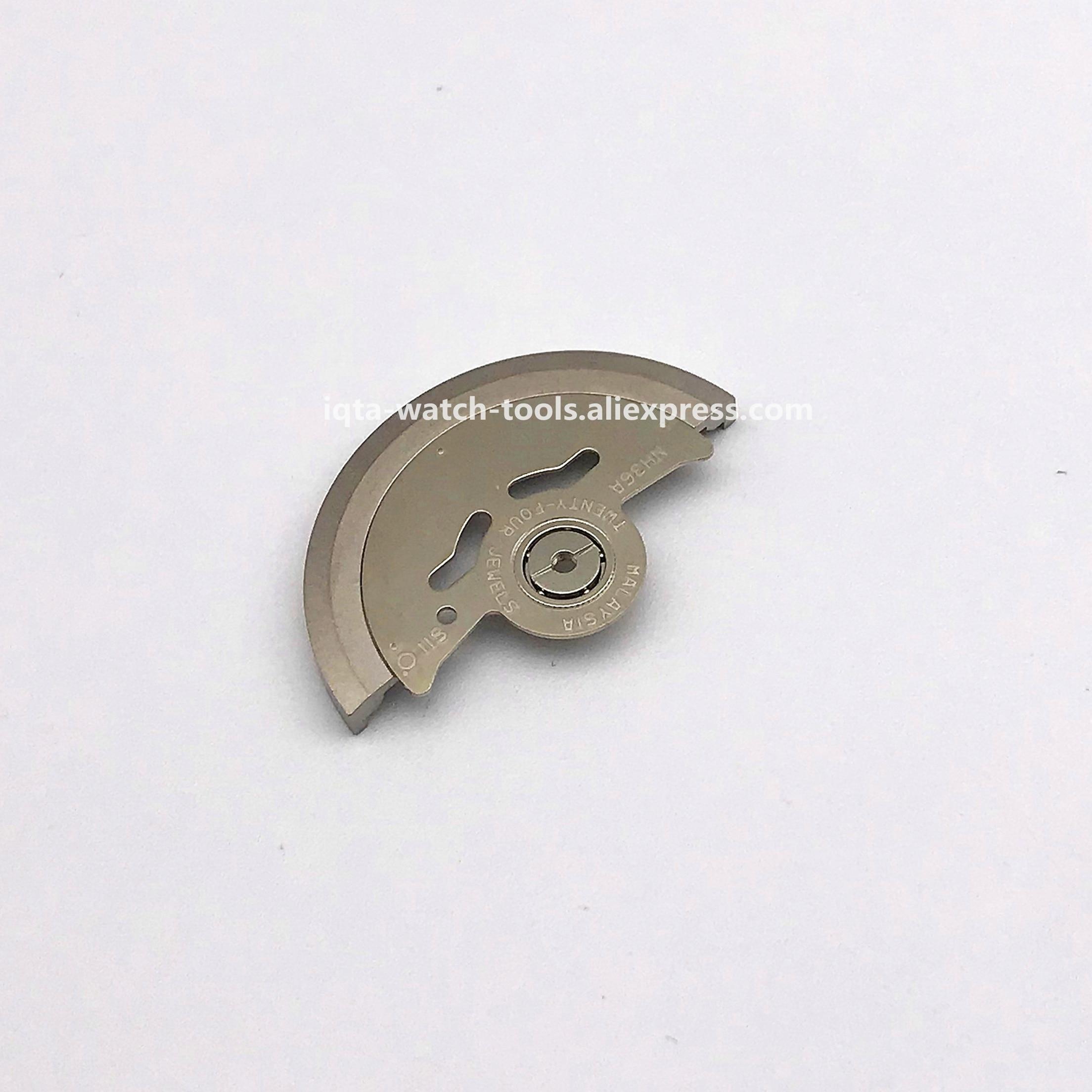 Automatic Hammer Tudor Movement Rotor Oscillating Weight Fit For ETA 2824 2836