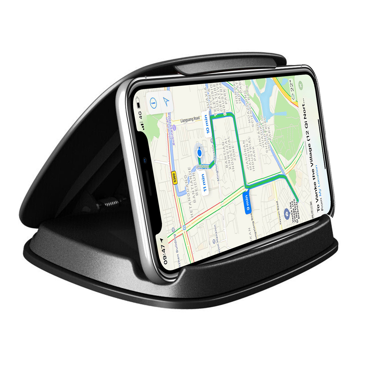 SOONHUA Car Phone Holder Dashboard Mount Stands GPS Navigation Device Bracket Phone Stand Free Shipping