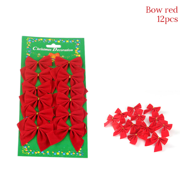 1set 12pcs red