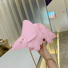 2020 High Quality Dinosaur Backpack Cute Animal PU Shoulder Bag Fashion Dinosaur Studded Bag Crossbody for girl gift