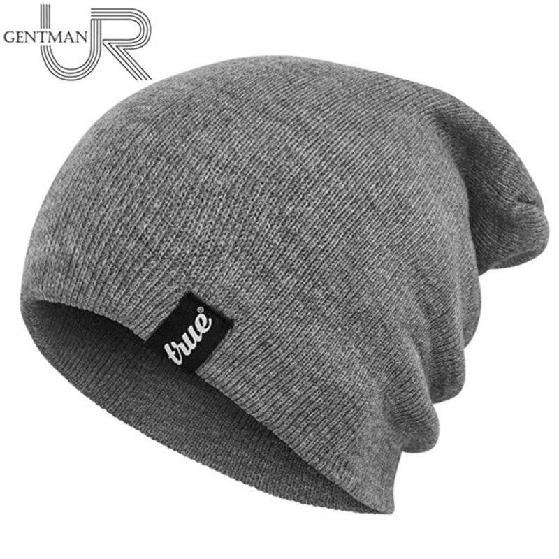 1 PCS Letter True Casual   Beanies   For Men Women Fashion Knitted Winter Hat Solid Color Hip-hop   Skullies   Bonnet Unisex Cap Gorros