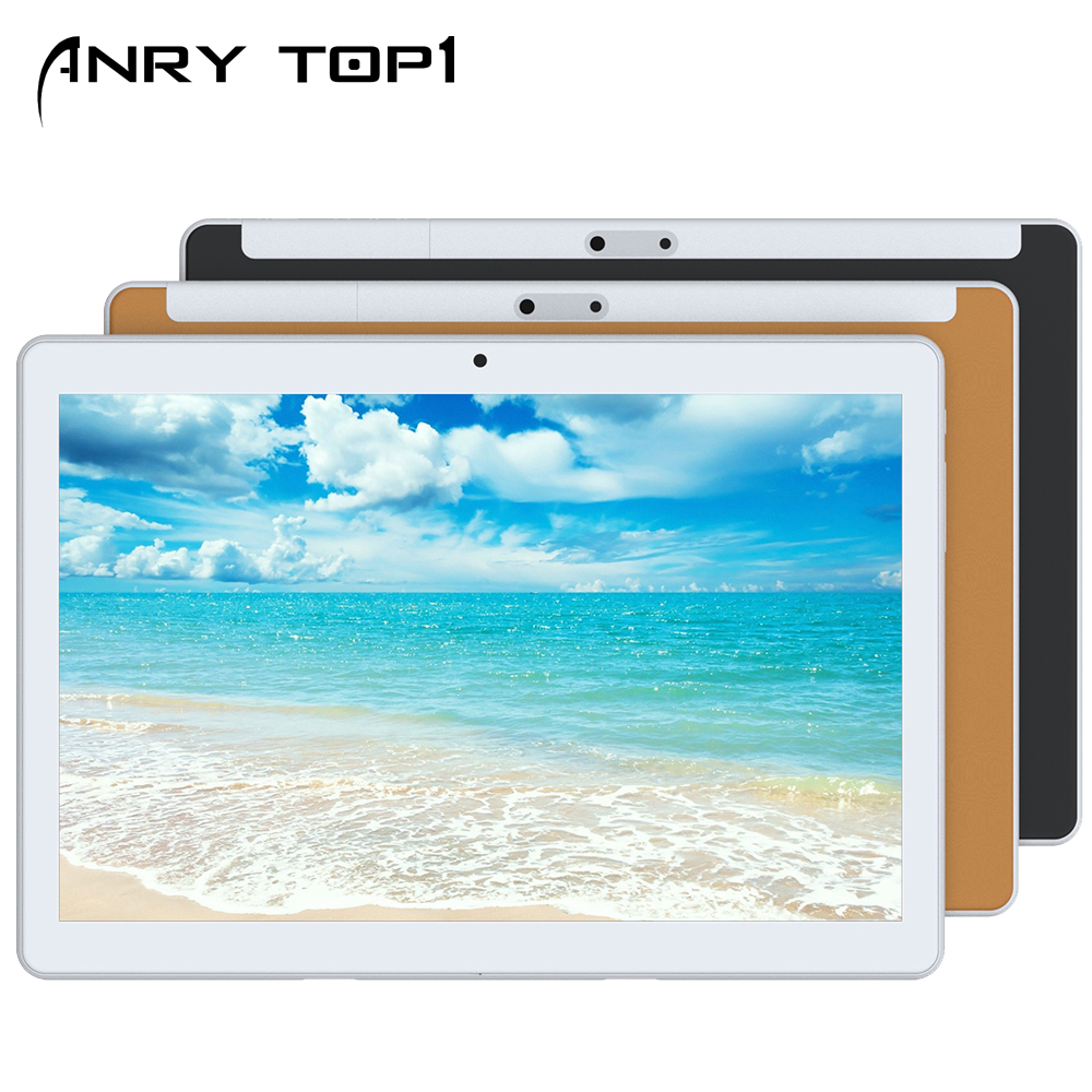 RS10 2.5D Curved Screen IPS Tablet PC 3G Quad Core Google Play The Kids Enfant 4GB RAM 32GB ROM WiFi GPS Tablet 10.1 Android 7.0