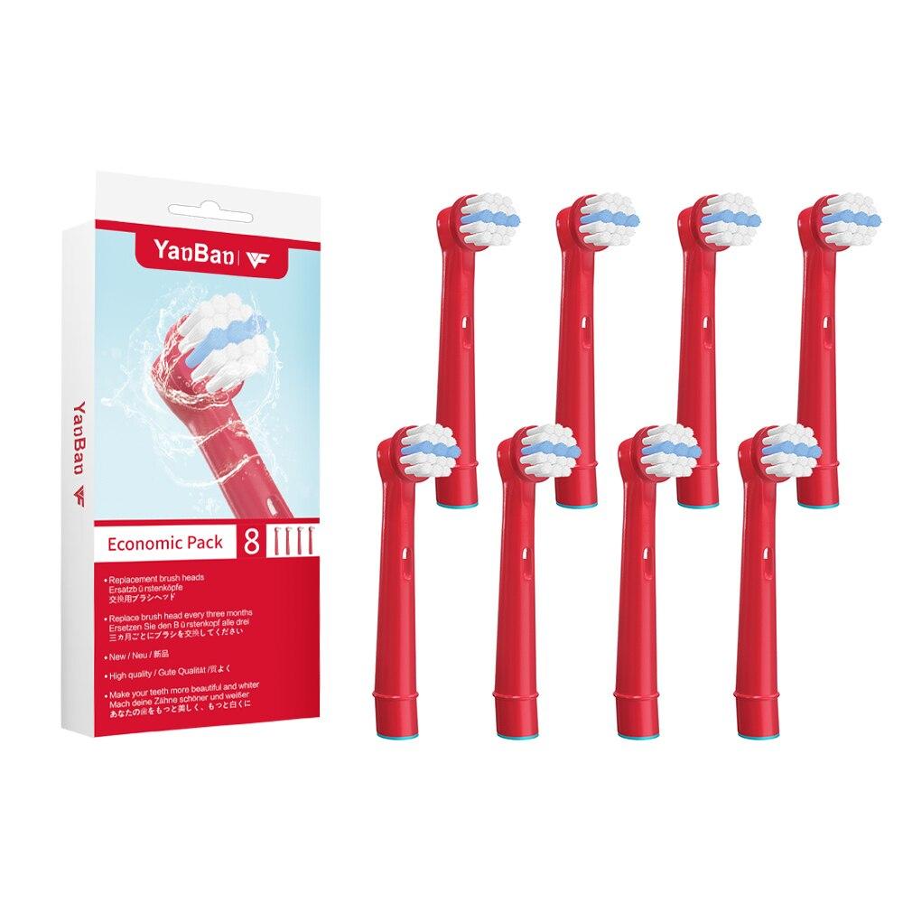Сменные насадки для зубной щетки Oral-B, 8 шт./лот, для профессионального ухода/умной серии/3D Excel