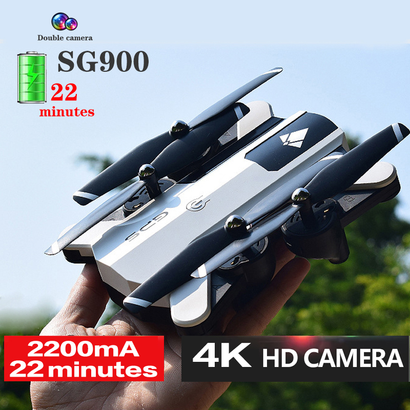 SG900 RC Drone With 4K HD Camera Aerial Photography FPV 22minutes Long Flight Quadcopter Follow Me Professional Helicopter Toys
