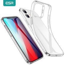 ESR temizle kılıf iPhone 12 Pro iPhone 12 mini durumda iPhone 12 Pro Max Ultra ince şeffaf yumuşak arka kapak Funda