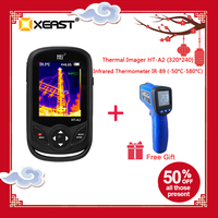 2019 Handheld TFT Digital display Thermische Infrarot Imager Kamera 320*240 in lager HT-A2 upgrade für Outdoor Jagd Schnelle