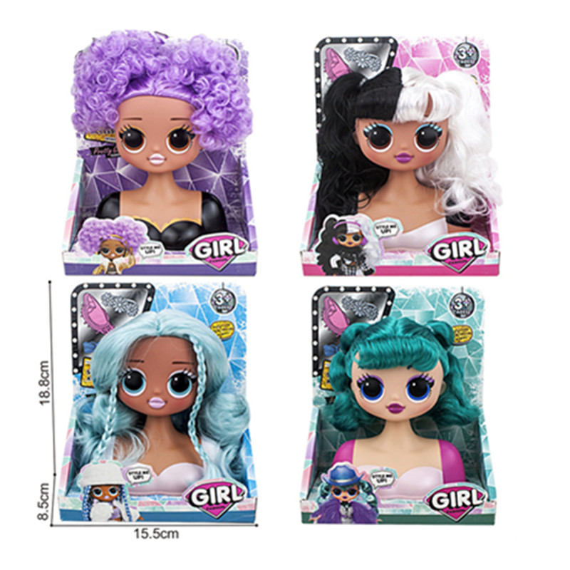 L.O.L.SURPRISE!  Lol Dolls Surprise Toys O.M.G.Winter Disco Dollie Fashion Doll Beautiful Hair Lol Doll Generation Sister Toys