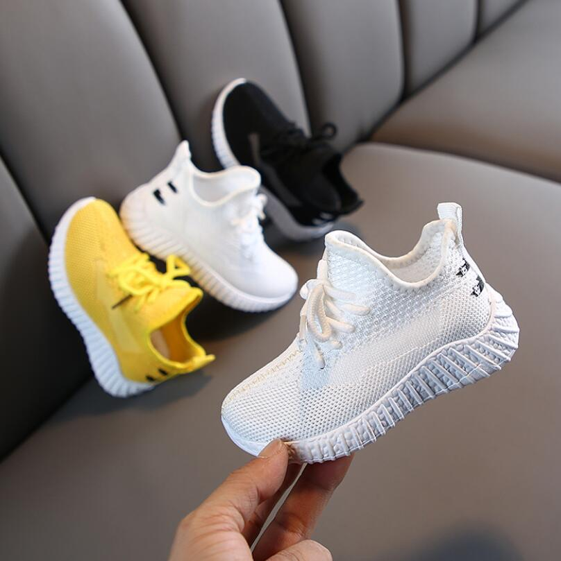 Sport Children Shoes For Kids Sneakers Boys Casual Shoes Girls Sneakers Breathable Fashion Sapato 2019 Short Martin Boots
