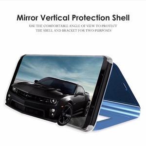 Зеркальный умный чехол для Samsung galaxy A8 A7 A6 A5 J6 J4 J3 J2 2018 J5 J7 Neo CORE 2017 Prime A520 A530 J250F, чехол книжка Бамперы      АлиЭкспресс