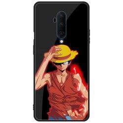 На Алиэкспресс купить чехол для смартфона for one plus oneplus 7 7t pro phone case one piece luffy anime manga tempered glass hard cover black soft tpu luxury fashion