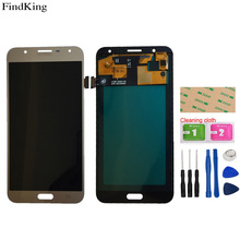 TFT LCD Display For Samsung Galaxy J7 2015 J700 SM-J700F J700H/D J700M LCD Display Assembly Touch Screen Digitizer Tools