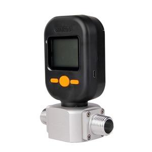Image 5 - DANIU yeni taşınabilir MF5712 akış ölçer 200L/dak dijital gaz hava azot oksijen kütle akış ölçer Rs485 Modbus protokolü