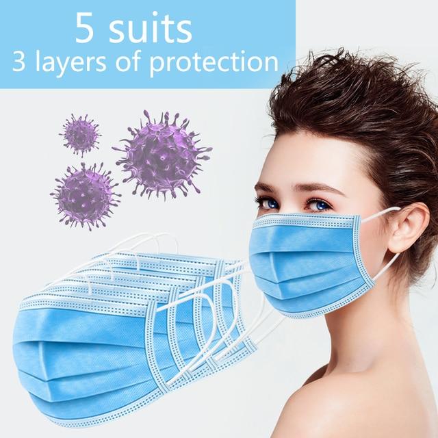 Individual mask Protective Face Mouth Masks flu mask mouth caps anti pollution Protective korea NON kf94 disposable pm 25 half