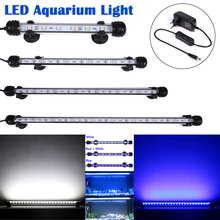 EU Plug Aquarium Lighting 0.5W LEDs LED Aquarium  Light IP68 Waterproof Fish Tank Light 18/28/38/48CM Submersible D30 лосьон для продления загара solarium sexy black tan extender lotion лосьон 40мл
