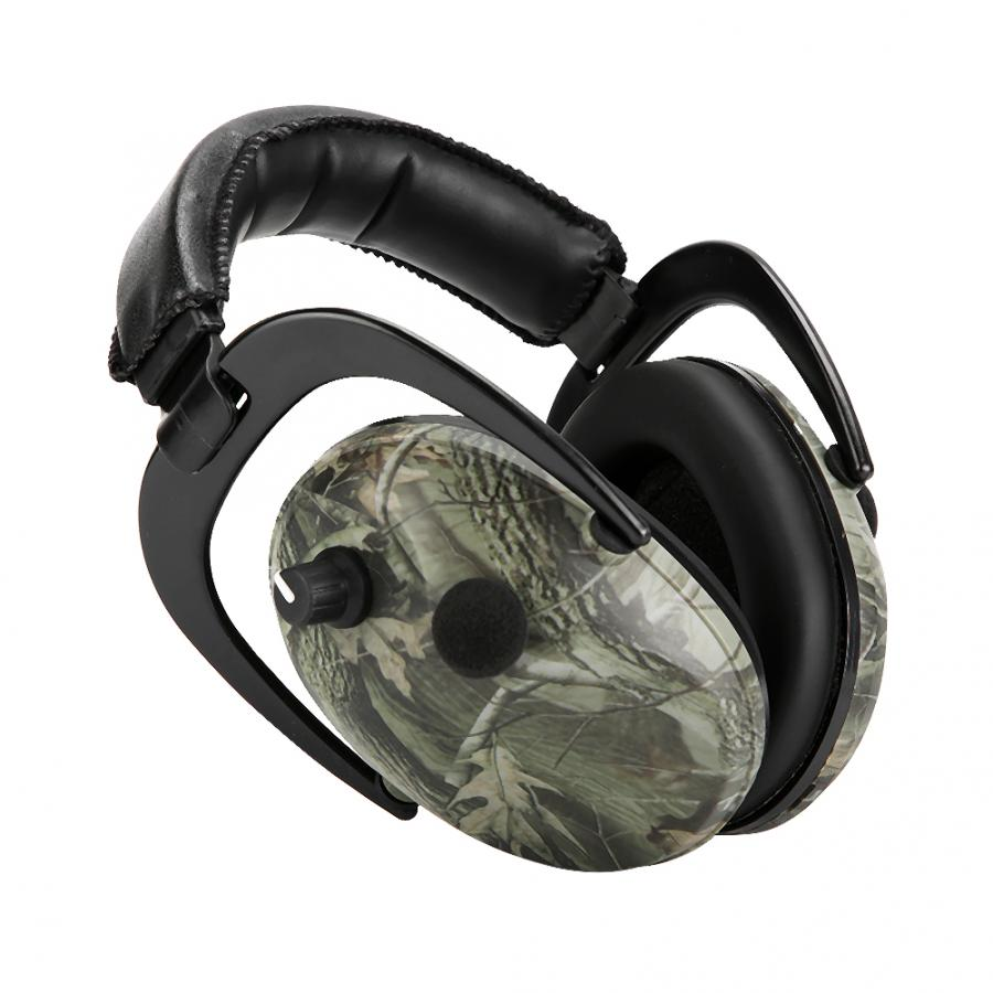 Image 2 - Electronic Tactic Shooting Ear Protection Earmuffs Anti noise Ear Protector NRR 28db Hearing Protector Headphones Soundproof hotEar Protector   -